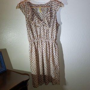 Modcloth Giraffe Print Dress